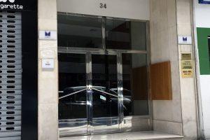 Puerta y portal comunitario en acero inoxidable 17