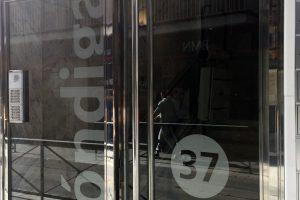 Puerta y portal comunitario en acero inoxidable 4
